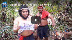 gefeliciteerd grappig filmpje jungle